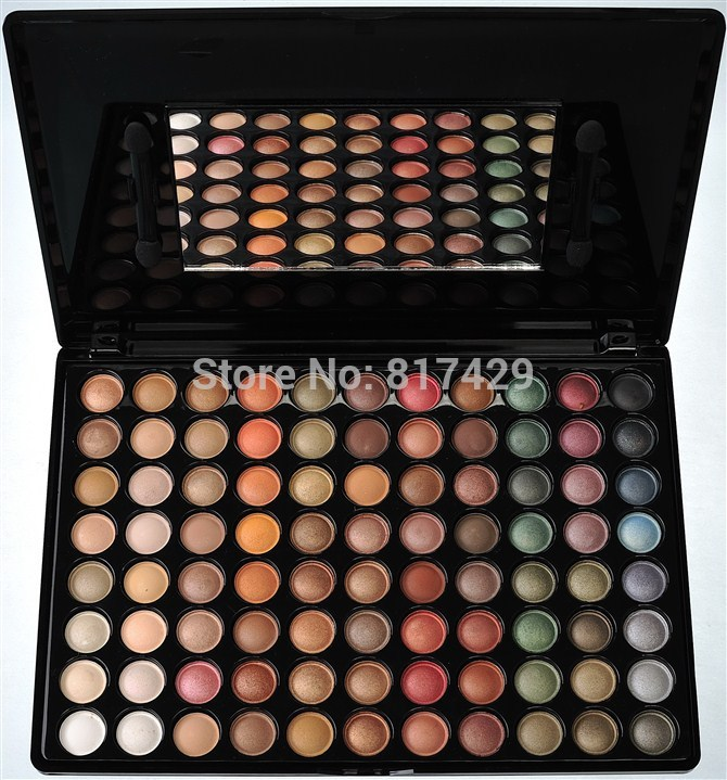 88 Color Eyeshadow Palette satin matte Eyshadow Makeup ...