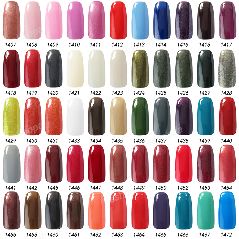 199 Colors Nail Polish Gel 15ml IDO 1557 Kit Nails Gel Soak Off UV ...