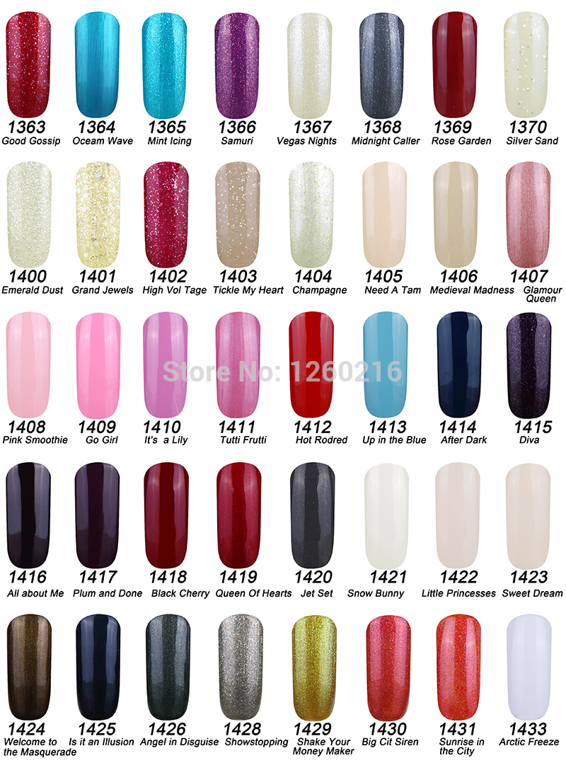 Choose 3pcs)2014 New Smart Gel Nail Gel Polish Soak Off Nail Gel UV ...