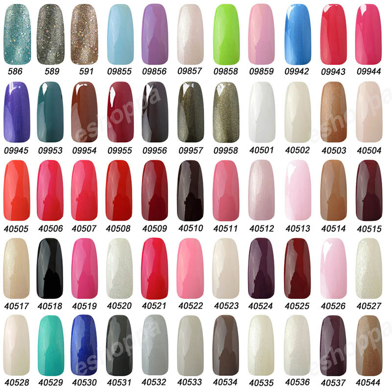 IDO Gel Polish 6 Bottles (Choose 6 Colors) x 15ml Nail Art Soak Off ...
