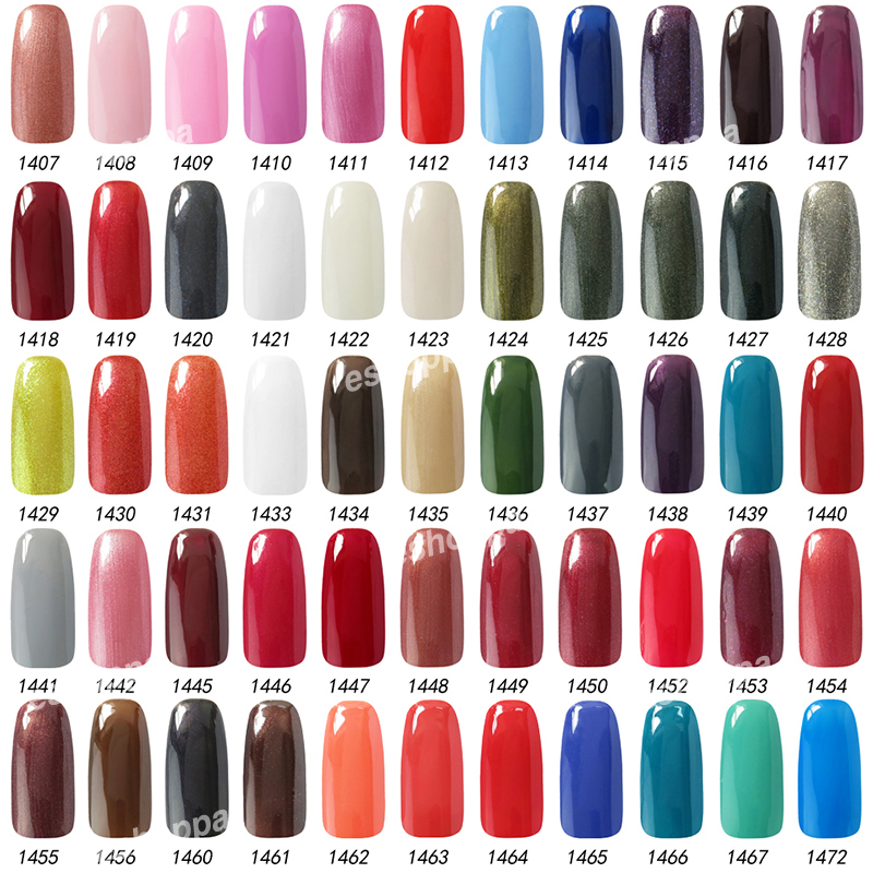 Lowest Price Gelpolish Choose Any 1 From 199 Colors Soak Off UV Led ...