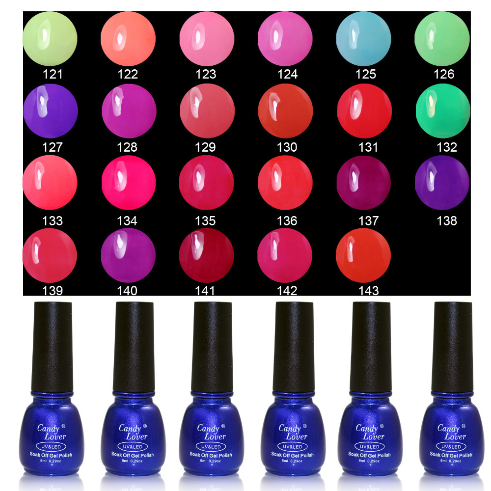 Best Quality Low Price Shellac Nail Gel On Aliexpress 1pcs Polish 8ml Freeshipping