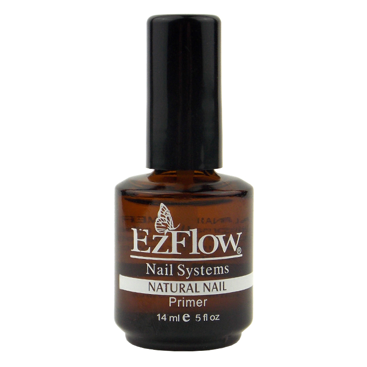 New 1Pc 14ML Ezflow Natural Nails Primer Nail Art Tool Products ...