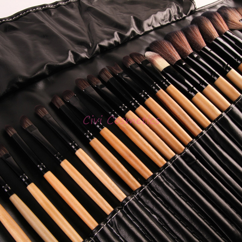 6c50829022f4 Stock Clearance !!! 32Pcs Print Logo Makeup Brushes Professional Cosmetic  Make Up Brush Set The Best Quality!