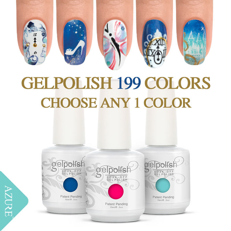 Top Discount GELPOLISH UV gel 15ML UV&LED Soak Off manicure For Nail ...