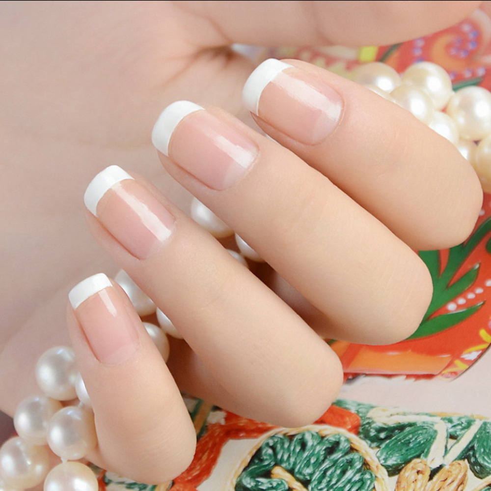 Gel Led French Manicure Kit Studio White And French Pink Nail Gel
