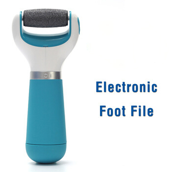 Scholl Velvet Smooth Electronic Pedicure Foot Rasp Foot